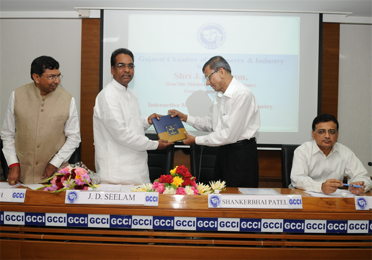 Interactive Meeting with Shri J. D. Seelam, Hon'ble Minister of State (Revenue)