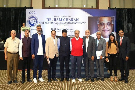 Most Influential Consultant alive, Dr. Ram Charan conducts a Master class for the Entrepreneurs of Ahmedabad