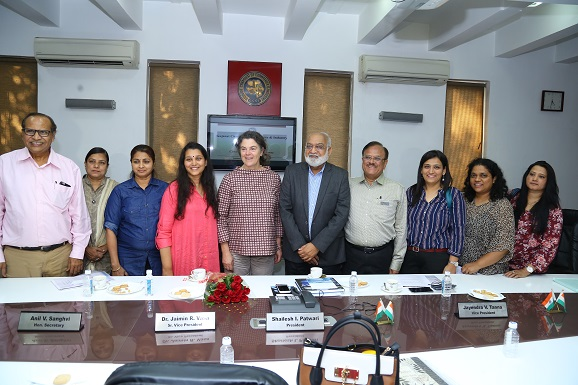 Interactive meeting with H.E. Ms. Ann Ollestad, Consulate General of Norway in India